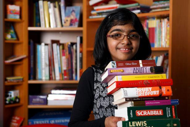 Winner of Channel 4 Child Genius 2013 Shrinidi Prakash
