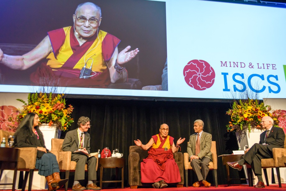 The Dalai Lama at the International Symposium for Contemplative Studies